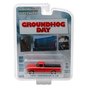 "Greenlight Hollywood Series: 1971 Chevrolet C-10 ""Groundhog Day"" 1/64 Scale"