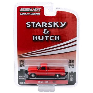 Greenlight Hollywood Series 27: 1969 Ford F-100 'Starsky & Hutch' 1/64 Scale