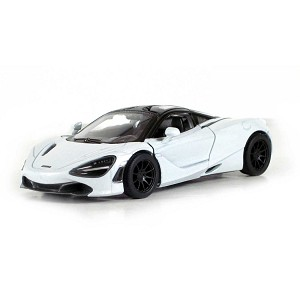 "5"" Die-cast: McLaren 720S (White) 1/36 Scale"
