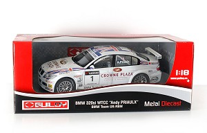 BMW 320Si Jorg Muller #2 Schnitzer 1/18 Scale by Guiloy