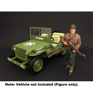 WWII USA Soldier II 1/18 Scale