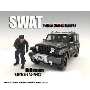 "Swat Team ""Rifleman"" 1/18 Scale"