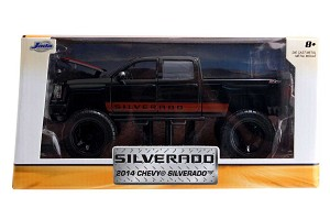 Just Trucks Series: 2014 Chevy Silverado Off Road (Black) 1/24 Scale