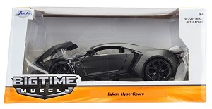 Bigtime Muscle Series: Lykan Hypersport (Grey) 1/24 Scale