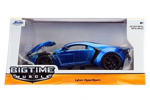 Bigtime Muscle Series: Lykan Hypersport (Blue) 1/24 Scale
