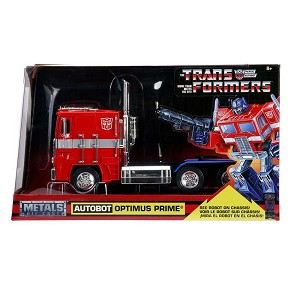 Hollywood Rides: Transformers Autobot G1 Optimus Prime 1/24 Scale
