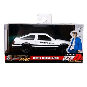 Hollywood Rides: INITIAL D 1986 Toyota Trueno AE86 1/32 Scale