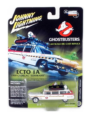 "Silver Screen Machines: 1959 Cadillac Eldorado ECTO 1A ""Ghostbusters"" 1/64 Scale"